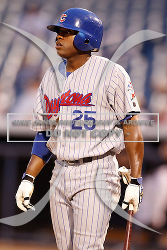 July 10, 2009:  Jonathan Wyatt of the Daytona Cubs during a game at George M. Steinbrenner Field in Tampa, FL.  Daytona is the Florida State League High-A affiliate of the Chicago Cubs.  Photo By Mike Janes/Four Seam Images