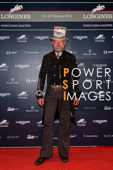 Ring Master Pedro attends the Opening Gala of the Masters during the Longines Hong Kong Masters 2015 at the AsiaWorld Expo on 12 February 2015 in Hong Kong, China. Photo by Li Man Yuen / Power Sport Images