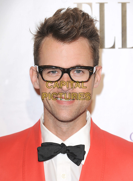 BRAD GORESKI.The 2nd annual Mary J. Blige Honors Concert to benefit FFAWN's Scholarship Fund held at Hammerstein Ballroom in NY, California, USA..May 1st, 2011.headshot portrait red white black glasses bow tie.CAP/RKE/DVS.©DVS/RockinExposures/Capital Pictures.