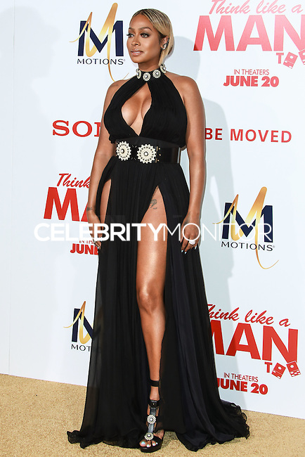 HOLLYWOOD, LOS ANGELES, CA, USA - JUNE 09: LaLa Anthony at the Los Angeles Premiere Of Screen Gems' 'Think Like A Man Too' held at the TCL Chinese Theatre on June 9, 2014 in Hollywood, Los Angeles, California, United States. (Photo by David Acosta/Celebrity Monitor)