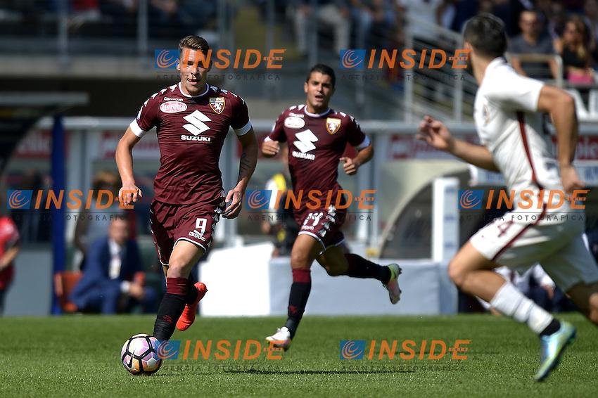 Andrea Belotti Torino,<br /> Torino 25-09-2016, Stadio Olimpico Grande Torino, Football Calcio 2016/2017 Serie A, Torino - Roma, Foto Filippo Alfero/Insidefoto