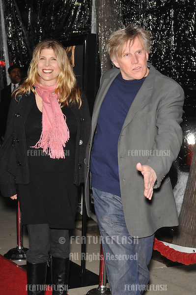 "Gary Busey & wife at the Los Angeles premiere of ""Crazy Heart"" at the Academy of Motion Picture Arts & Sciences in Beverly Hills..December 8, 2009  Los Angeles, CA.Picture: Paul Smith / Featureflash"