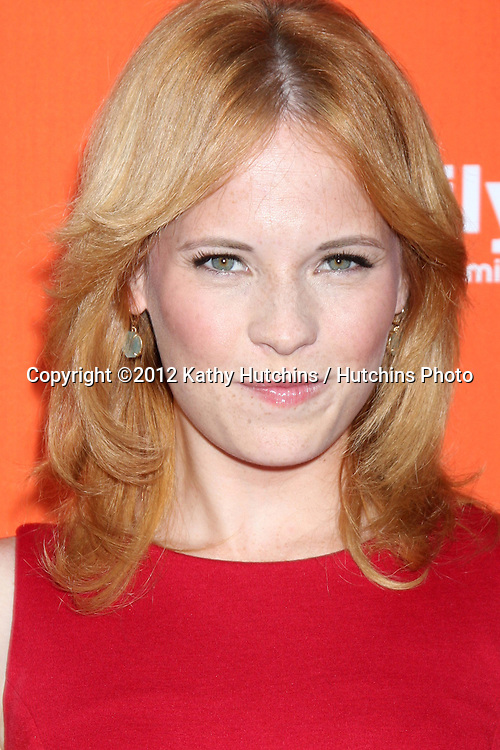 """LOS ANGELES - SEP 13:  Katie Leclerc arrives at the """"""""Switched at Birth"""" Fall Premiere & Book Launch Party at The Redbury Hotel on September 13, 2012 in Los Angeles, CA"""
