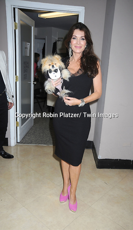 Lisa Vanderpump and Giggy attends the Loehmann's Fashion Show for Fashion's Night Out on September 6, 2012 in New York City.