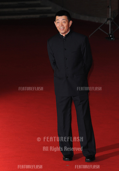 "Gu Changwei attends the premiere of ""Love for Life"" during the 6th International Rome Film Festival..November 2, 2011, Rome, Italy.Picture: Catchlight Media / Featureflash"