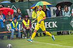 13.07.2019, Parkstadion, Zell am Ziller, AUT, FSP, Werder Bremen vs. Darmstadt 98<br /> <br /> im Bild / picture shows <br /> <br /> Stefanos Kapino (Werder Bremen #27)<br /> Foto © nordphoto / Kokenge