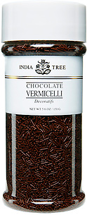 10508 Chocolate Vermicelli, Tall Jar 5.6 oz, India Tree Storefront