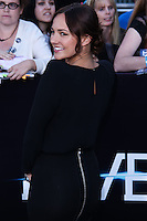 """WESTWOOD, LOS ANGELES, CA, USA - MARCH 18: Briana Evigan at the World Premiere Of Summit Entertainment's """"Divergent"""" held at the Regency Bruin Theatre on March 18, 2014 in Westwood, Los Angeles, California, United States. (Photo by David Acosta/Celebrity Monitor)"""