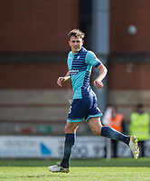 Will De Havilland of Wycombe Wanderers during the Sky Bet League 2 match between Leyton Orient and Wycombe Wanderers at the Matchroom Stadium, London, England on 1 April 2017. Photo by Andy Rowland.
