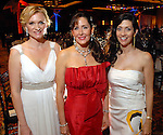 Gretchen McFarland, Liz Glanville and Nancy Littlejohn at the Houston Symphony Ball at the Hilton Americas Houston Friday Feb. 27, 2009. (Dave Rossman/For the Chronicle)