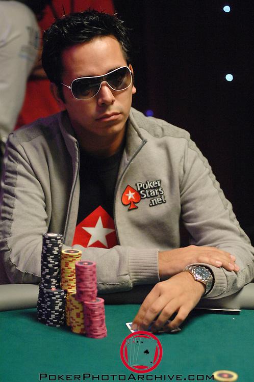 Pokerstar sponsored player Angel Guillén