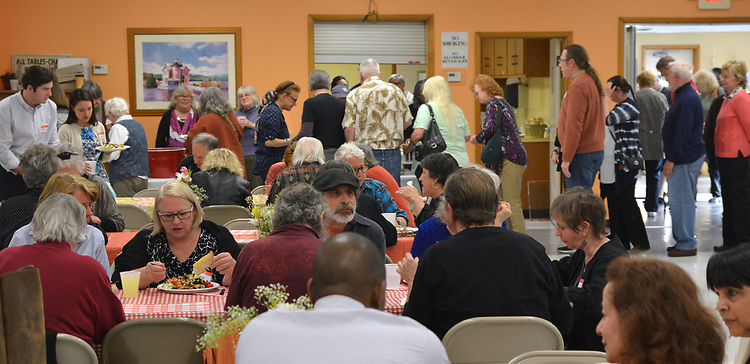 Saugerties Democratic Committee Lasagna Dinner held at the Saugerties Senior Citizens. Center in Saugerties, NY, on Thursday, May 11, 2017.. Photo by Jim Peppler. Copyright Jim Peppler/2017.