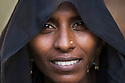 Portrait of beautiful young married Gujarat woman, Gujarat, India --- Model Released