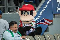 Chango. <br /> Mascota de la Serie del Caribe con el encuentro entre los Alazanes de Gamma de Cuba contra los Criollos de Caguas de Puerto Rico en estadio de los Charros de Jalisco en Guadalajara, M&eacute;xico, Martes 6 feb 2018. <br /> (Foto: AP/Luis Gutierrez)