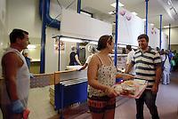 Roma, 15 Agosto 2016<br /> Pranzo alla mensa Caritas di Colle Oppio