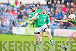 Tomas O'Rourke Ballyduff v Lixnaw in the Senior County Hurling Championship Final at Austin Stack park, Tralee on Sunday.