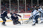 Evan Richardson (UConn - 19), Miles Gendron (UConn - 10), Mitchell Fossier (Maine - 11), Rob McGovern (Maine - 35), Mitchell Fossier (Maine - 11), Patrick Holway (Maine - 2) - The University of Maine Black Bears defeated the University of Connecticut Huskies 4-0 at Fenway Park on Saturday, January 14, 2017, in Boston, Massachusetts.