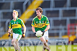 Mike Coakley of Kerry in action against Cork last Wednesday night in Pairc Ui Chaoimh, Cork in the Munster GAA Junior Football Championship.