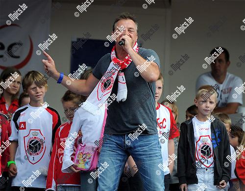 2011-08-07 / Voetbal / seizoen 2011-2012 / Fandag R. Antwerp FC / Tom Waes..Foto: mpics