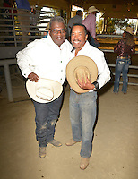 CITY OF INDUSTRY, CA - JULY 16: Howard Johnson, Obba Babatundé attend the 32nd Annual Bill Pickett Invitational Rodeo Rides, Southern California at The Industry Hills Expo Center in the City of Industry on July 16, 2016 in the City of Industry, California. Credit: Koi Sojer/Snap'N U Photos/MediaPunch