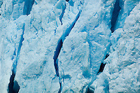 Close-up of face of North Sawyer Glacier