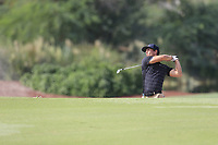 Thorbjorn Olesen (DEN) on the 16th fairway during the 3rd round of the DP World Tour Championship, Jumeirah Golf Estates, Dubai, United Arab Emirates. 17/11/2018<br /> Picture: Golffile | Fran Caffrey<br /> <br /> <br /> All photo usage must carry mandatory copyright credit (&copy; Golffile | Fran Caffrey)