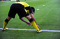 Shinji Kagawa (Dortmund),AUGUST 5, 2011 - Football / Soccer :Shinji Kagawa of Dortmund stretchs during warm-up before the Bundesliga match between Borussia Dortmund 3-1 Hamburger SV at Signal Iduna Park in Dortmund, Germany. (Photo by AFLO)