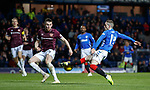 03.04.2019 Rangers v Hearts: Ryan Kent and John Souttar