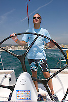 PASIONxCASTELLON C.AZAHAR .ERNESTO VERA .TONO SANCHEZ .R.C.N.CASTELLON .DUFOUR 44 - XXVII Copa del Rey de vela - Rela Club Náutico de Palma - 26 July to 2 Agost 2008 - Palma de Mallorca - Baleares - España