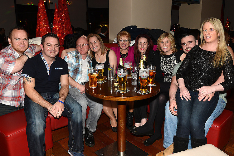Susan McGuinness celebrating her birthday in Brú with family and friends Photo: Colin Bell/pressphotos.ie