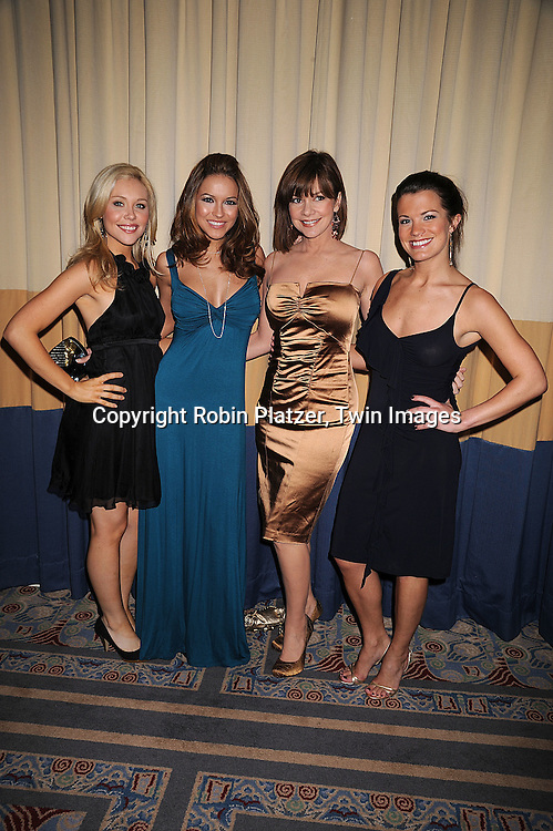 "Amanda Baker, Chrishell Stause, Bobbie Eakes and Melissa Claire Egan of ""All My Children"".at The Starlight Starbright Children's Foundation Benefit on .March 6, 2008 at The Marriott Marquis Hotel. .Roibn Platzer, Twin Images."