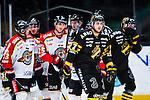 Stockholm 2014-01-08 Ishockey SHL AIK - Lule&aring; HF :  <br />  AIK:s Brett Carson deppar efter att Lule&aring;s Anton Hedman gjort 2-0<br /> (Foto: Kenta J&ouml;nsson) Nyckelord:  depp besviken besvikelse sorg ledsen deppig nedst&auml;md uppgiven sad disappointment disappointed dejected