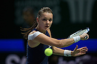 AGNIESZKA RADWANSKA (POL)<br /> <br /> WTA FINALS, SINGAPORE INDOOR STADIUM, SINGAPORE SPORTS HUB, SINGAPORE, 2015