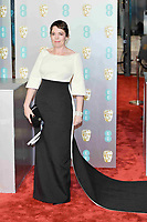 LONDON, UK - FEBRUARY 10: Olivia Colman at the 72nd British Academy Film Awards held at Albert Hall on February 10, 2019 in London, United Kingdom. Photo: imageSPACE/MediaPunch<br /> CAP/MPI/IS<br /> ©IS/MPI/Capital Pictures