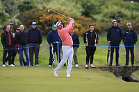 Ryan Fox (NZL) on the 3rd fairway during Round 2 of the Betfred British Masters 2019 at Hillside Golf Club, Southport, Lancashire, England. 10/05/19<br /> <br /> Picture: Thos Caffrey / Golffile<br /> <br /> All photos usage must carry mandatory copyright credit (&copy; Golffile | Thos Caffrey)