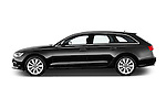 Driver side profile view of a 2014 Audi A6 AVUS 5 Door Wagon 2WD