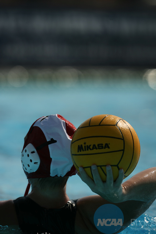 2007 MAY 13:  USC takes on San Diego State University during the Division I Women's Water Polo 3rd Place Game held at the Joint Forces Training Base in Los Alamitos, CA.  USC defeated San Diego State by a score of 13-6.  Jamie Schwaberow/NCAA Photos