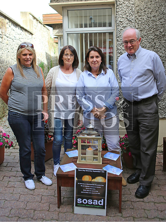 Annemarie Baxter, Fiona Downey, Carmel Hancock and David Crean at the Launch of new SOSAD Initiative<br /> <br /> Photo - Jenny Matthews