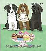 Kate, CUTE ANIMALS, LUSTIGE TIERE, ANIMALITOS DIVERTIDOS, paintings+++++Cats & dogs page 36 1,GBKM83,#ac#, EVERYDAY ,cat,cats ,dogs,dog