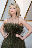 Haley Bennett arrives on the red carpet of The 90th Oscars&reg; at the Dolby&reg; Theatre in Hollywood, CA on Sunday, March 4, 2018.<br /> *Editorial Use Only*<br /> CAP/PLF/AMPAS<br /> Supplied by Capital Pictures