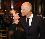 Rebecca Taichman and husband attend the Broadway Opening Night performance of The Roundabout Theatre Company production of 'Time and The Conways'  on October 10, 2017 at the American Airlines Theatre in New York City.