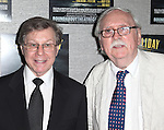 Maury Yeston & Thomas Meehan.attending the Roundabout Theatre Company's Opening Night After Party for 'Death Takes A Holiday'  in New York City.
