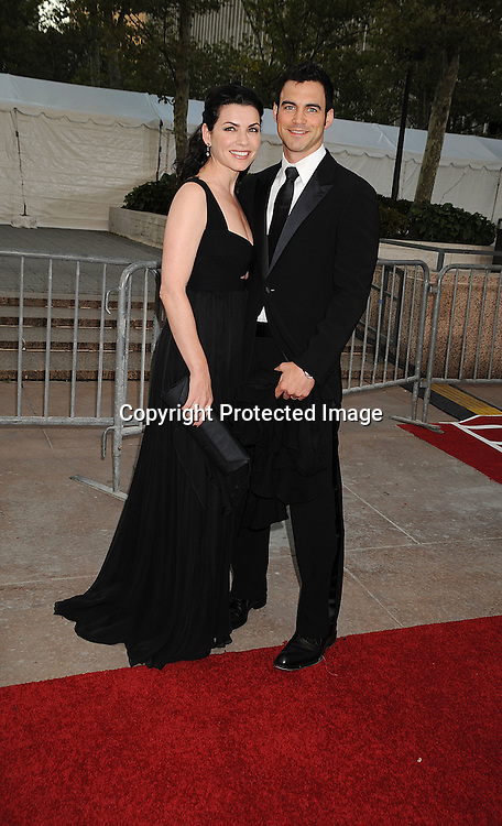 Juliana Margulies and husband Keith Lieberthal .arriving at The opening night of the Metropolitan Opera  on September 22, 2008 at The Metropolitan Opera House in New York City. ..Robin Platzer, Twin Images