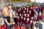 """Nuala O'Rirdan and Shelly O'Hanlon from IRD Newmarket pictured in Knockaclarig National School promoting the """"Raptor Life Project"""", a scheme to create greater awareness about the natural habitats in river life."""