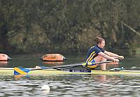 Caversham. Berkshire. UK<br /> Katie BARTLETT<br /> 2016 GBRowing U23 Trials at the GBRowing Training base near Reading, Berkshire.<br /> <br /> Monday  11/04/2016 <br /> <br /> [Mandatory Credit; Peter SPURRIER/Intersport-images]