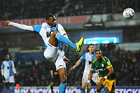 Blackburn Rovers' Tosin Adarabioyo shoots<br /> <br /> Photographer Kevin Barnes/CameraSport<br /> <br /> The EFL Sky Bet Championship - Blackburn Rovers v Preston North End - Saturday 11th January 2020 - Ewood Park - Blackburn<br /> <br /> World Copyright © 2020 CameraSport. All rights reserved. 43 Linden Ave. Countesthorpe. Leicester. England. LE8 5PG - Tel: +44 (0) 116 277 4147 - admin@camerasport.com - www.camerasport.com
