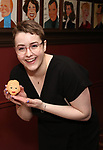 Caitlin Kinnunen during the Beth Leavel Portrait unveiling at Sardi's on 3/26/2019 in New York City.