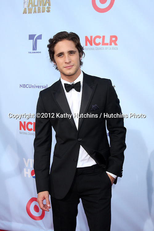 LOS ANGELES - SEP 16:  Diego Boneta arrives at the 2012 ALMA Awards at Pasadena Civic Auditorium on September 16, 2012 in Pasadena, CA