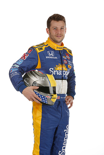 17 February 2015, Indianapolis, Indiana, USA<br /> Marco Andretti<br /> ©2015, Michael L. Levitt<br /> LAT Photo USA
