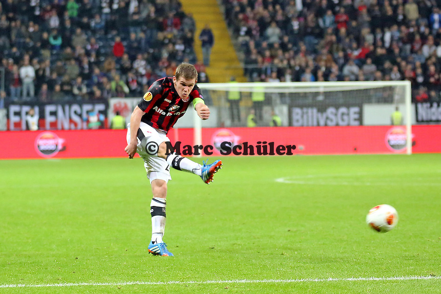 Sebastian Jung (Eintracht) - Eintracht Frankfurt vs. Macabi Tel Aviv, Europa League 3. Spieltag